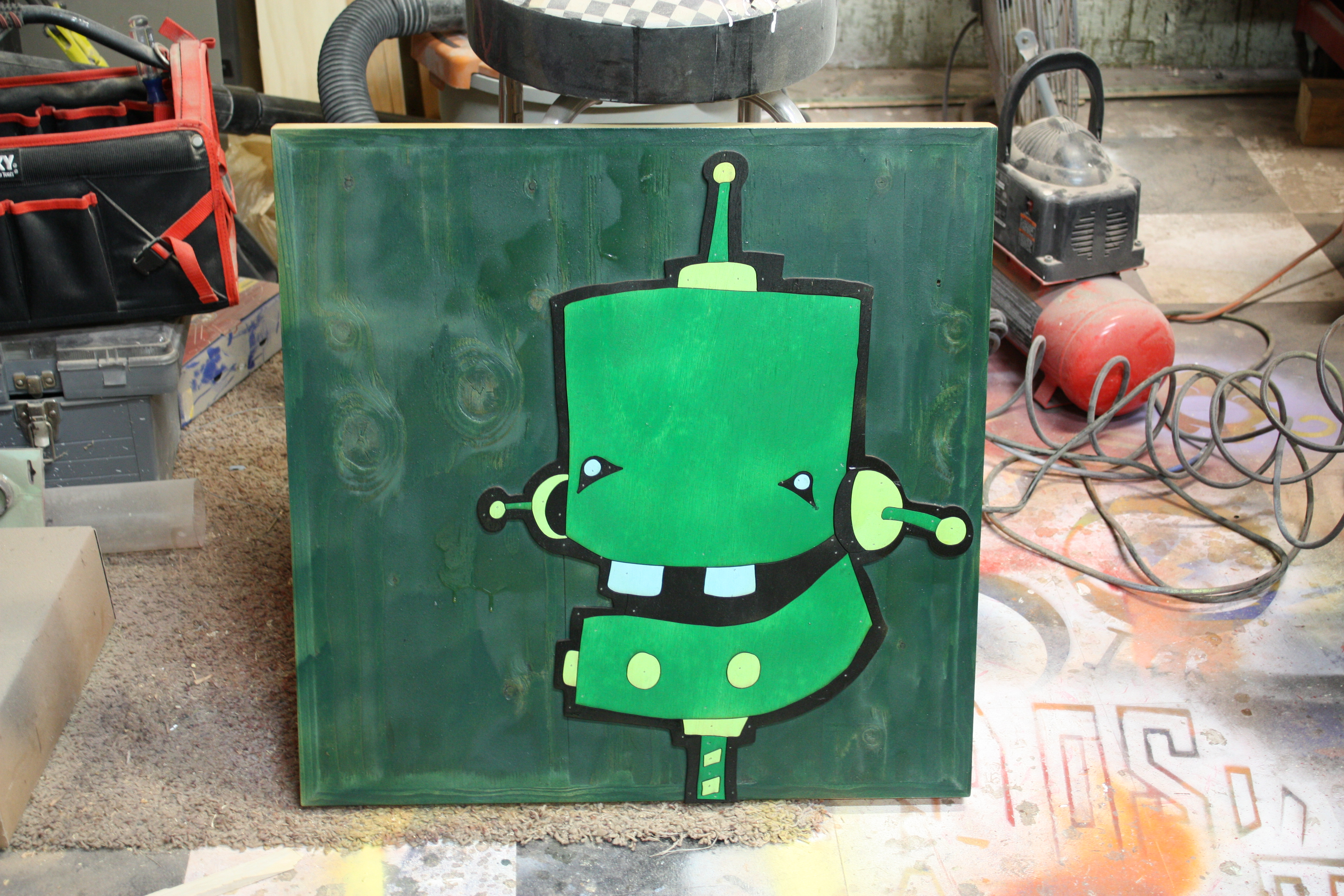 Bot in Green 2