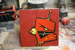 Bot in Red