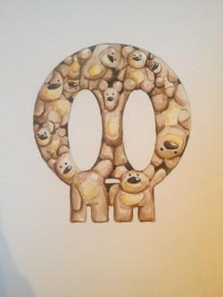 Skull - Teddy Bears