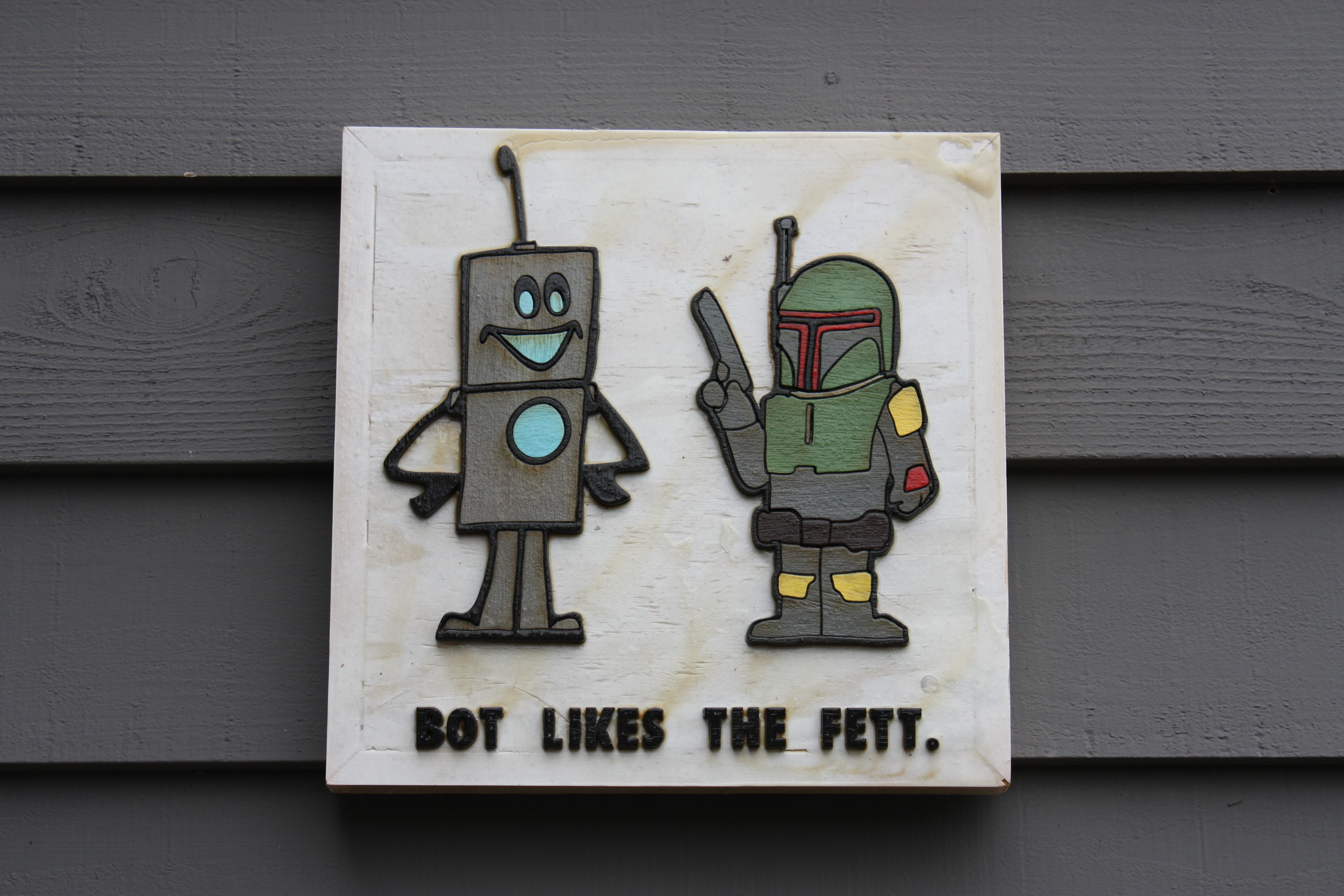 Bot Digs the Fett
