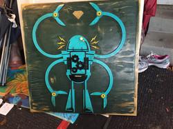 Robot in Blue