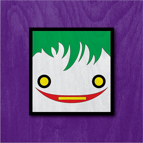 """13"""" Action Hero Painting - The Clown Prince"""