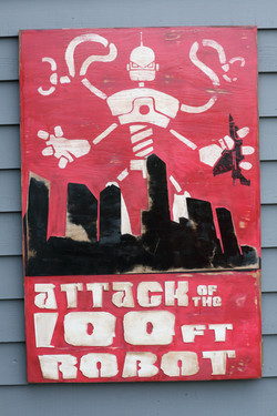 Attack of the 100ft Robot