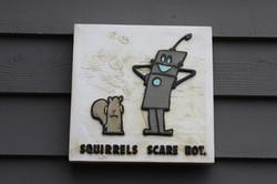 Squirrels Scare Bot