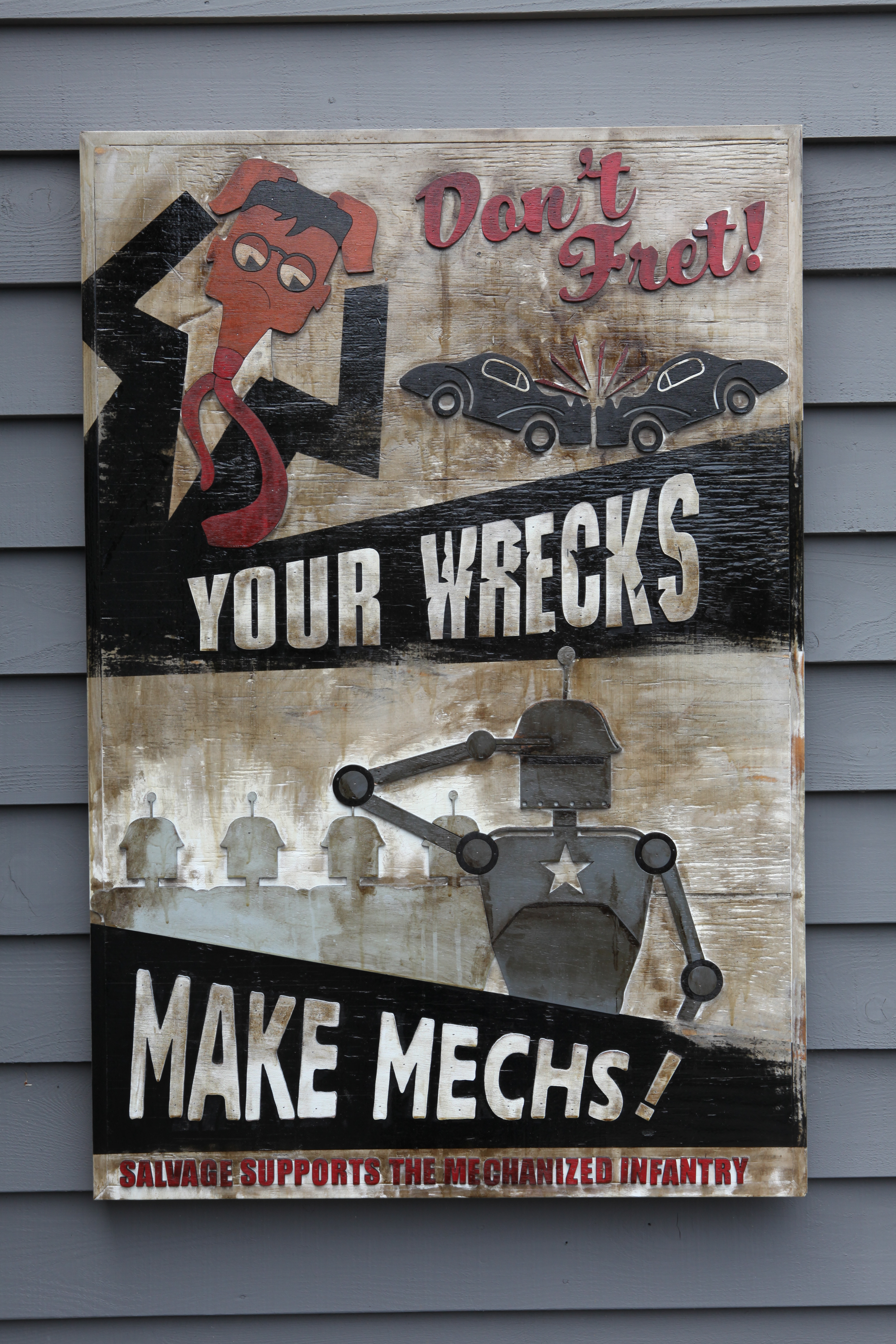 Wrecks for Mechs