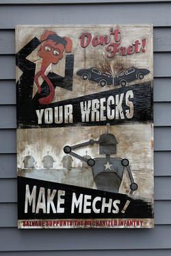 Wrecks for Mechs