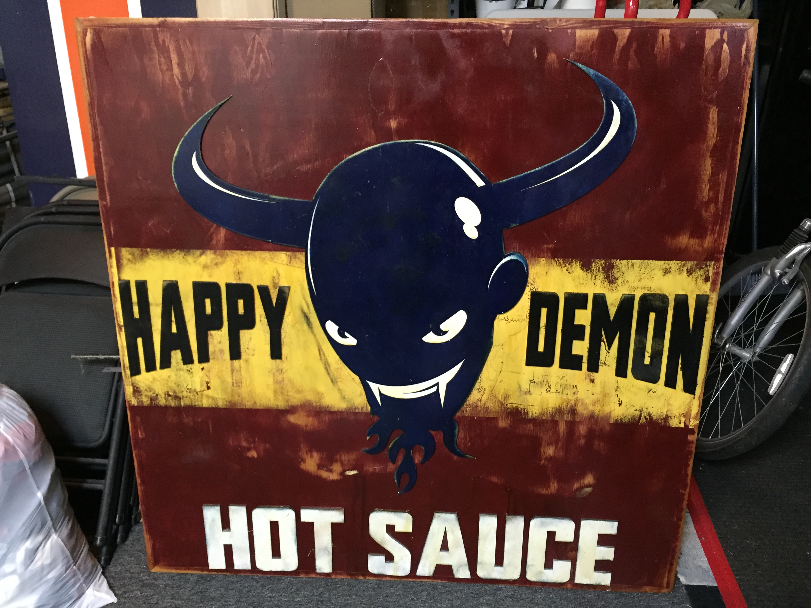 Happy Demon Hot Sauce