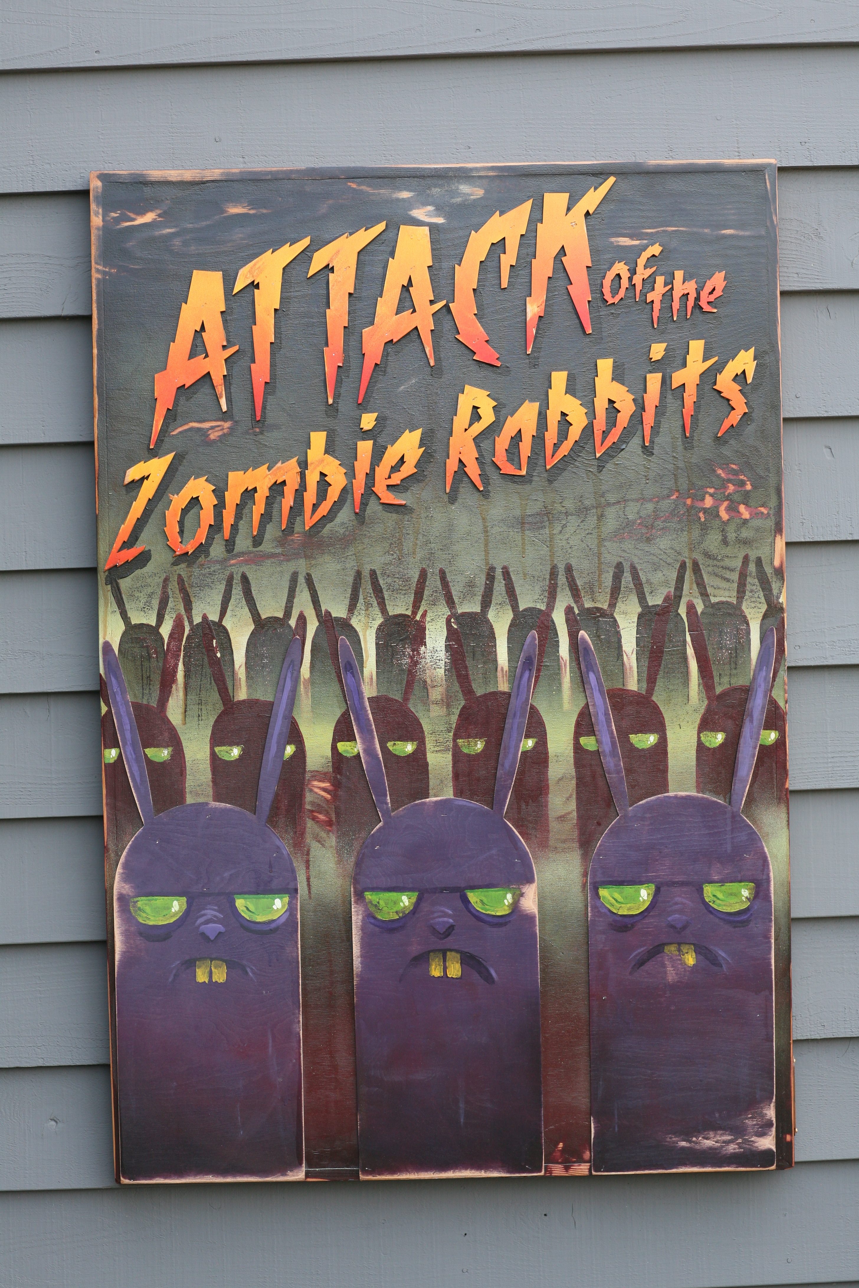 Attack of the Zombie Rabbits