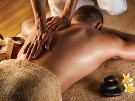 If it is your first time having a massage...