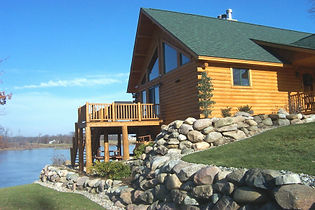 CI Forest products for Residential Log Siding Applications