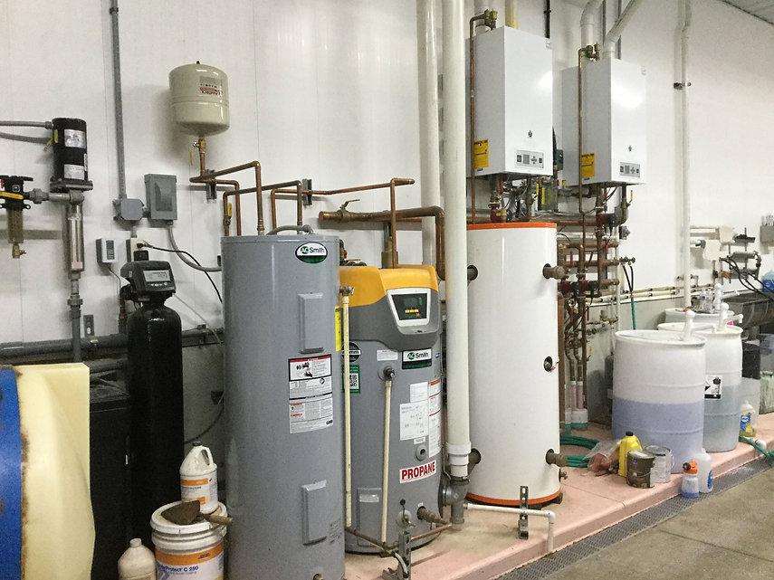 Dairy Plumbing Installation