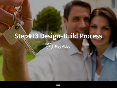 The Fun Part, Step 13 Design-Build Process With Maplewood Custom Homes