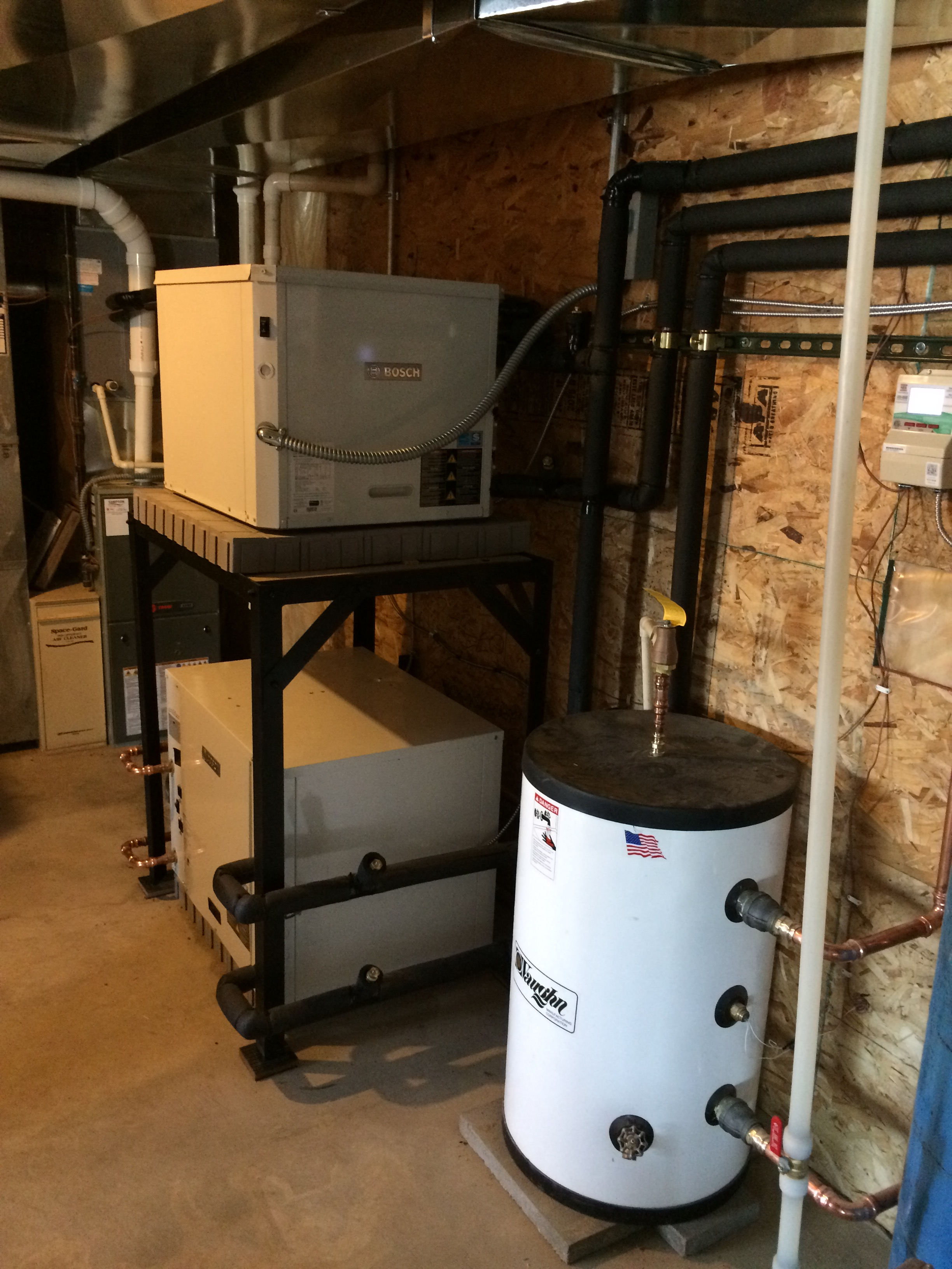 Updated HVAC systems by Sampson
