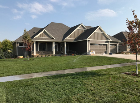 2017 Fall Showcase Of Homes Entry #17 Completed  On Time For Rochester MN Tour