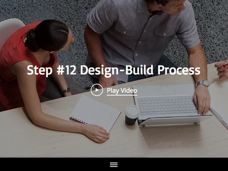 Step #12 Of The 13 Design-Build Process Steps With Maplewood Custom Homes