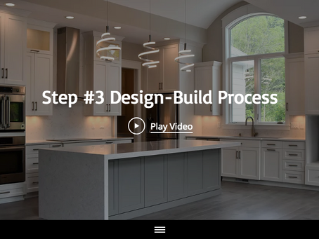 """Step #3 of the 13 Design-Build Process Steps"""" with Maplewood Custom Homes"""