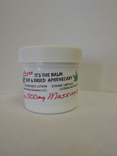 SALE- 2 It's the Balm Massage Lotion / 300mg./2fl.oz.