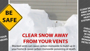 Sampson Heating winter tips on safety with your HVAC system to avoid #CarbonMonoxidePoisoning