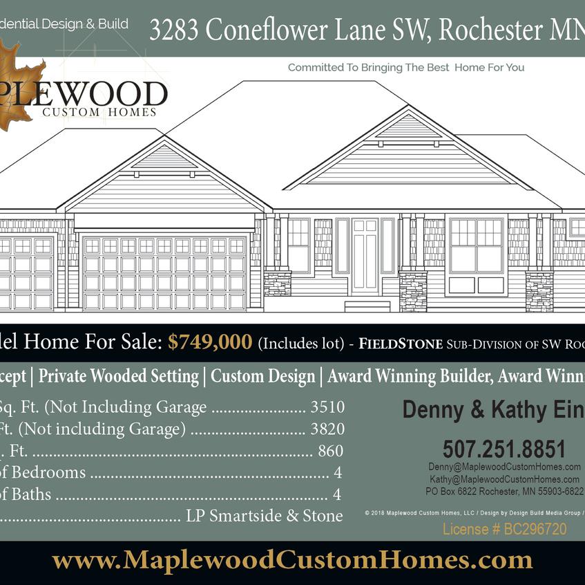3283 Coneflower LN SW, Rochester MN