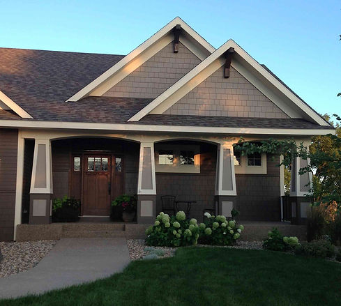 Stonebridge Builders Rochester MN Craftsman Home Design Build