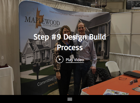 Step #9 Of The 13 Design-Build Process Steps With Maplewood Custom Homes