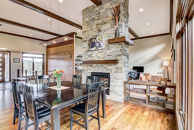 Steen Construction Eau Claire WI Contemporary Prairie Ranch Style New Home