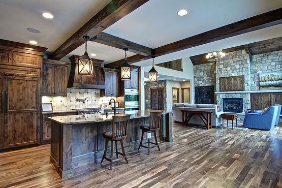 Steen Construction Eau Claire WI Rustic Home Design Build
