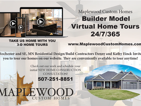 TOUR VIRTUAL Executive Model Home(s) by Maplewood Custom Homes