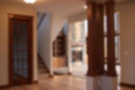 Maplewood Custom Homes Builder Rochester Minnesota entryway interior