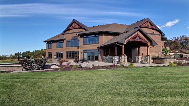 Steen COnstruction Ranch Style Home - Country Retreat