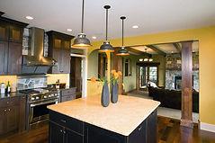 Steen Construction Eau Claire WI Kitchen Island Open Concept Design-Build
