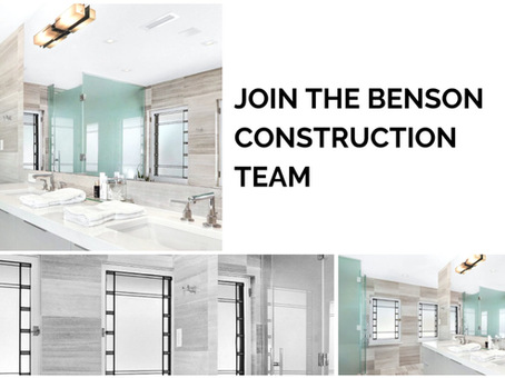 Benson Construction, Career Opportunities Within Residential Construction Trades, La Crosse WI