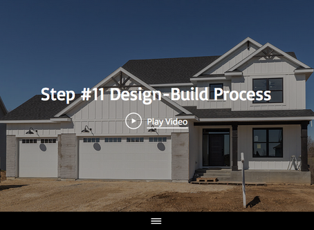 Step #11 Of The 13 Design-Build Process Steps With Maplewood Custom Homes