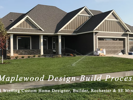 Executive Model Home, design-build by Maplewood Custom Homes