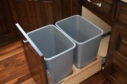 35 Quart Double Waste Pullout