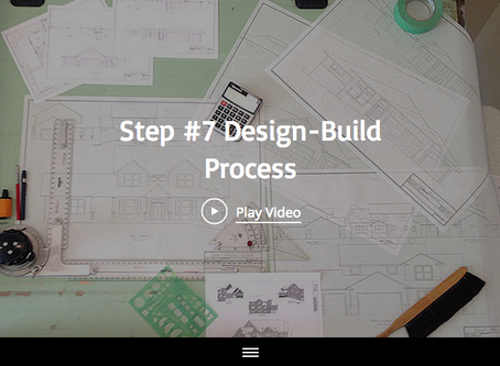 Step #7 of the 13 Design-Build Process Steps with Maplewood Custom Homes