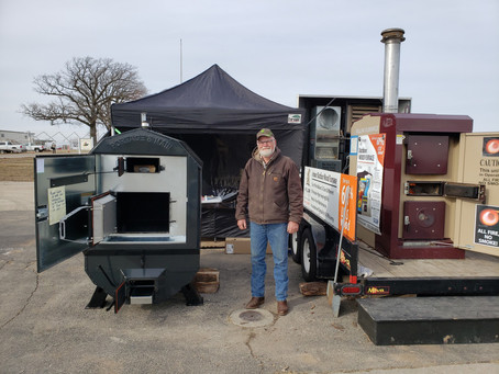 WPS 2019 Farm Show HAPPENING NOW...  with Ultimate Outdoor Furnace