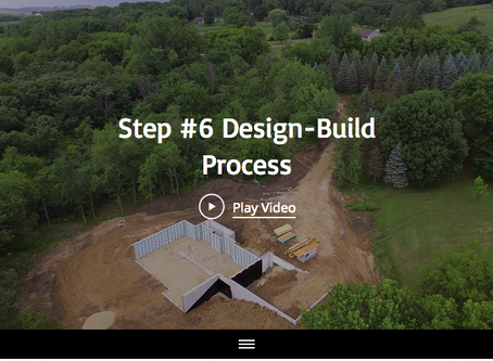 Step #6 of the 13 Design-Build Process Steps with Maplewood Custom Homes