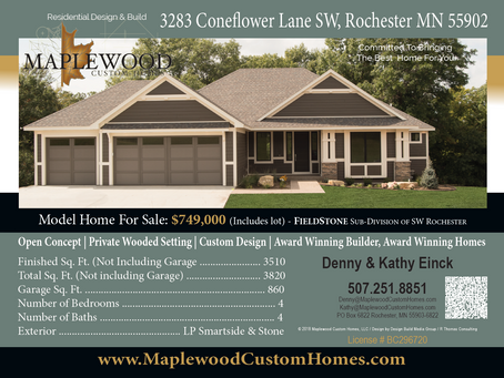 Some Of The Maplewood Homes Currently Available In Rochester MN