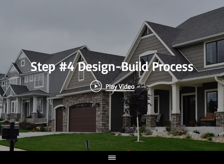 "Step #4 of the 13 Design-Build Process Steps"" with Maplewood Custom Homes"