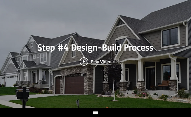 "Step #4 of the 13 Design-Build Process Steps"" with Maplewood"