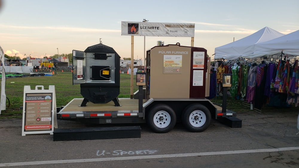 Les Radcliffe features polar Furnace and Portage And Main furnaces at the Steele County Free Fair