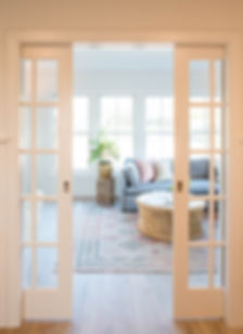 sun room pocket doors