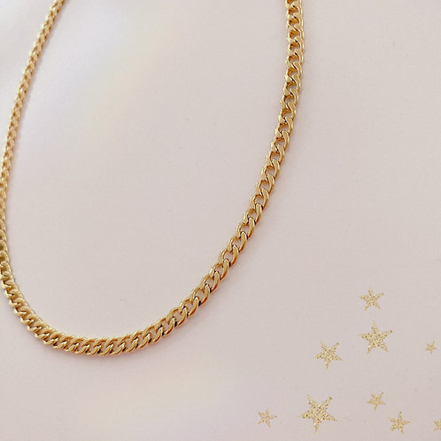 COLLIER ''TED'' GOLD ☼