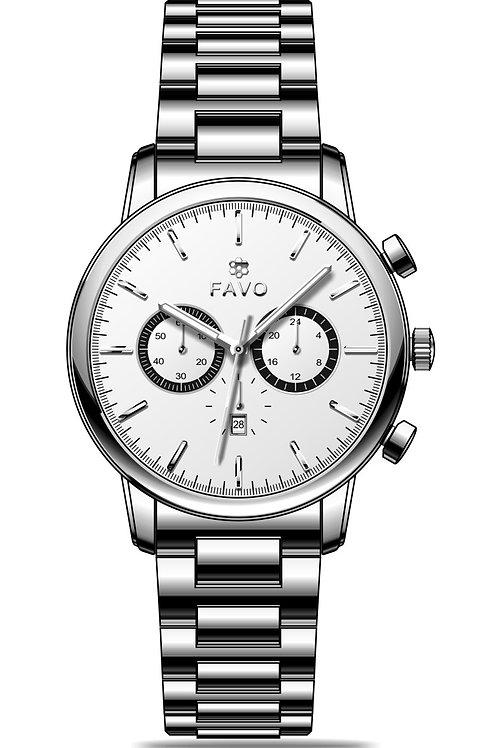 Silvery Watch