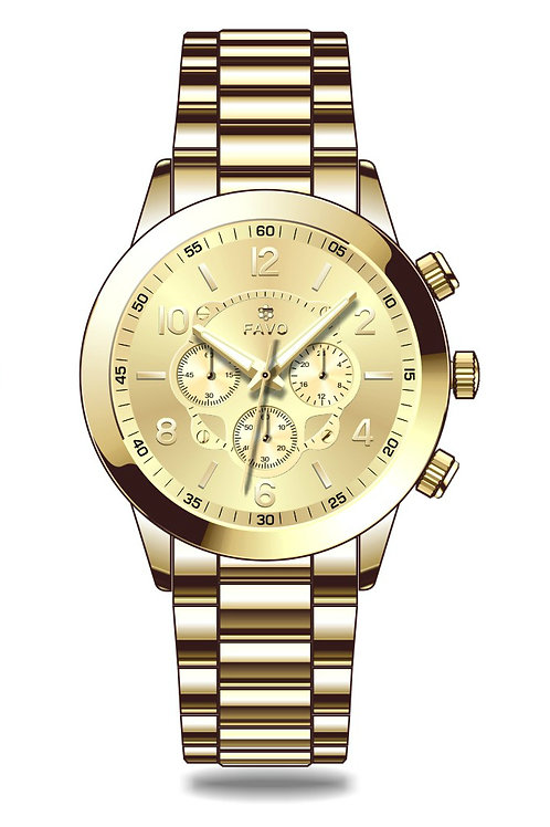 Light Gold FAVO Watch