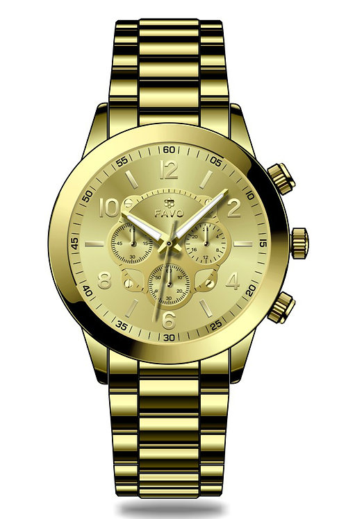 Gold FAVO Watch