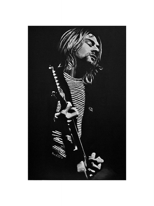 """Kurt Print  8""""x10"""""""