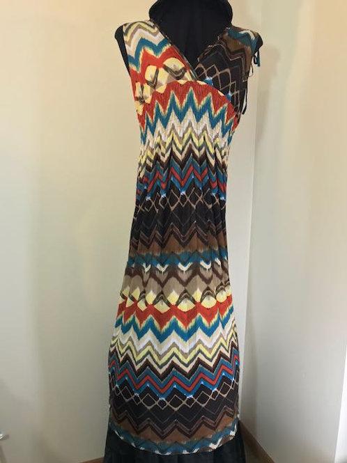 Long Dress - Earth Colors