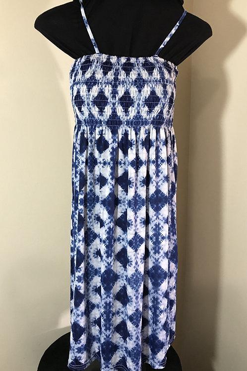 Sun Dress Shibori pattern